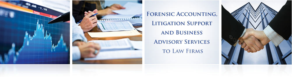 Forensic Accounting, Litigation Support and Advisory Services for Law Firms